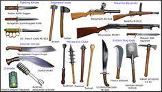 WW1 melee weapons by AndreaSilva60.deviantart.com on @DeviantArt