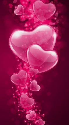 Heart Wallpaper for Mobile – Magazine Feminina Love Pink Wallpaper, Love Wallpaper Backgrounds, Lip Wallpaper, Flower Background Wallpaper, Heart Wallpaper, Pretty Wallpapers, Cellphone Wallpaper, Flower Backgrounds, Iphone Wallpaper