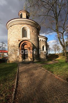 Saint Martin Rotunda, Vysehrad, Prague, Czech Republic