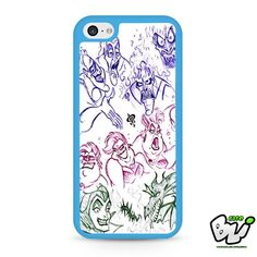 Villain Drawing iPhone 5C Case