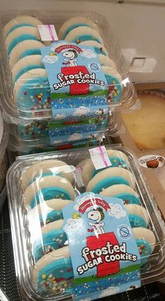 CollectPeanuts.com on Facebook - Sweet Treats! Elaine found these Snoopy Flying Ace cookies at Shop Rite. They also had the Peanuts ice cream cake!  Join the Snoopy Spotters! Post photos of your finds on the wall.