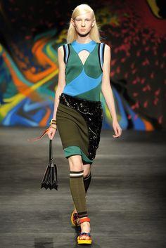 Prada RTW Spring 2014 - Slideshow - Runway, Fashion Week, Reviews and Slideshows - WWD.com