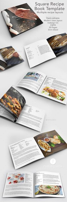 The Tribeca Cookbook Template Indesign Premium Download Is A Great