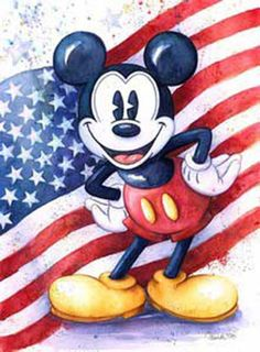 American Mouse - Disney Art on Main Street at Alexander's Fine Art