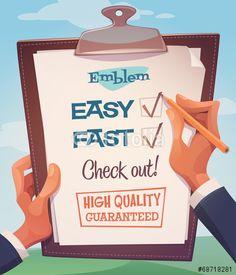 Wektor: Business card \ poster design. Vector illustration.