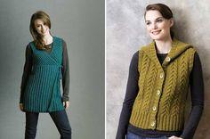 Örgü yelek modelleri - knit vest