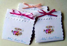 Bible Gal - My Kitchen - Tea Parties - Bridal Tea Tea Party Favors, Tea Party Invitations, Bridal Shower Tea, Bridal Shower Favors, Bridal Showers, Tea Etiquette, Tea And Crumpets, Kitchen Designs Photos, Christmas Tea