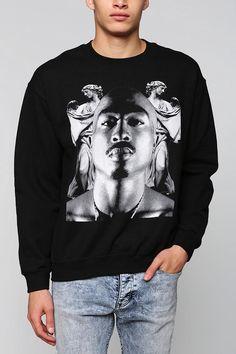 5d0d2321d0e75 Tupac Angel Pullover Sweatshirt Tupac Shakur
