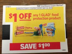 Glad Food protection Product 05/30/2014
