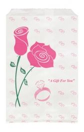 Paper Gift Bag Rose    Price: $2.25/pack of 100