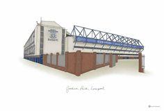 Goodison Park. Goodison Park, Everton Fc, Loft, Portraits, Football, Bed, Building, Soccer, Futbol