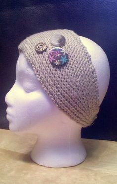 The Laughing Willow: Tunisian knit headband