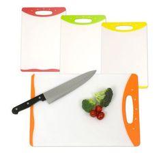 Home Basics Cutting Board (Set of 2) Size: