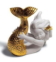 porcelain mermaid
