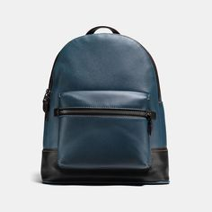 5ed2d0ebf4fed  Coach (DE) -  Coach COACH League Backpack In Glovetanned Pebble Leather -