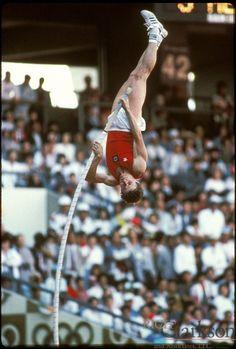 Sergej Bubka, the first man over 6m