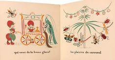 Bonshommes des Bois | Élisabeth Ivanovsky Carnival Rides, Elisabeth, Book Illustration, Whimsical, Literature, Fiction, Creatures, Japan, Artist