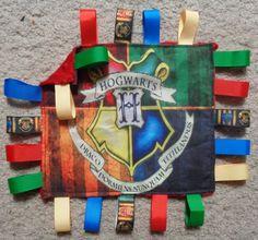 Harry Potter Baby Taggie Blanket Ribbon by BeadCraftsandJewelry