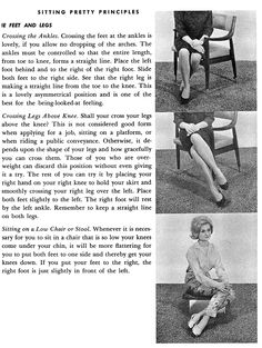 Lady Lessons • Sitting Pretty