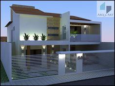 Projeto de Construção Residencial  - Área de 385,00m² ( Obra em Execução )