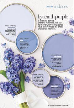 Kitchen paint palette purple Ideas for 2019 Interior Paint Colors, Paint Colors For Home, Purple Paint Colors, Diy Interior, Interior Doors, Bright Colors, Interior Design, Paint Schemes, Colour Schemes