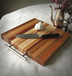 Mother's Day???? PATRICK Modern Square EZGrip Cutting Board / Butcher by ecoSMITH, $49.00