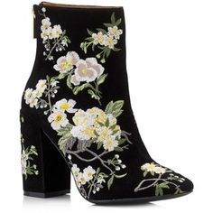 Miss Selfridge ATHENA Floral Embroidered Boot
