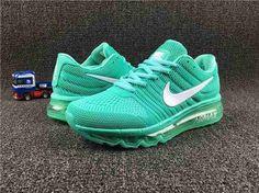 Nike Air Max 2017 Women Green KPU Shoes $75