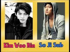 Kim Woo Bin & So Ji Sub idols coreanos/ korean idols