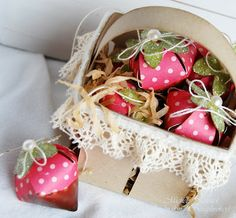sweet berry basket with tutorial