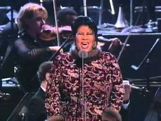 """Nessun Dorma"", Aretha Franklin, 1998 Grammy Awards I get chills every time I watch this!!!! Amazing!!!"