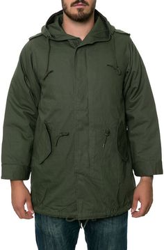 Rothco Jacket The M-51 Fishtail Parka in Olive Green - Karmaloop.com