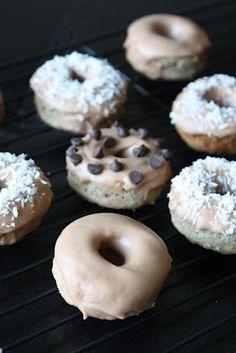 healthy #vegan banana donuts - NO SUGAR, NO DAIRY, NO GLUTEN