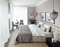 Спальня недели: этюд в пастельных тонах