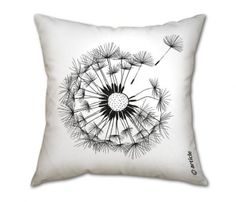 Dandelion Pillow from Uncovet.com