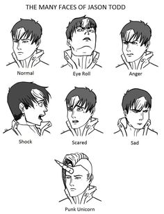 The Many Faces of Jason Todd by Cera-Tay