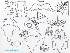 free ghosties by annieoakleaves, via Flickr