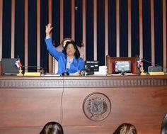 Presidenta del Senado somete proyecto que crea distritos judiciales de Santo Domingo Este, Norte y Oeste