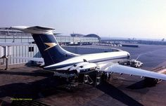 BOAC Super VC10 (Series 1150) G-ASGE (c/n: 855) at New York's JFK airport, date unknown.