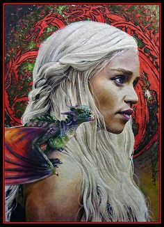 Daenerys by *DavidDeb on deviantART (Not a movie, but I don't want to make another pin board...)