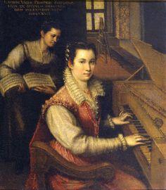 c9fdba43c6e61 (Más sobre mujeres en la pintura aquí) El próximo 24 de agosto se cumplen  462 años del nacimiento de la pintora renacentista italiana L..