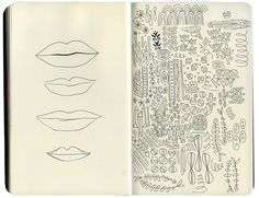 Sketchbook Sneak Peek: Caitlin Keegan via Design*Sponge