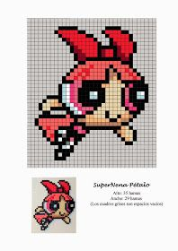 Free Hama Beads Pattern by Soniation - Anime Melty Bead Patterns, Pearler Bead Patterns, Perler Patterns, Beading Patterns, Loom Patterns, Fuse Beads, Perler Beads, Beaded Cross Stitch, Cross Stitch Patterns