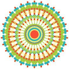Mandala, Meetkundig, Patroon