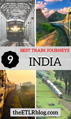 How many have you ticked off your bucket list ? Incredible India | India Bucket List | Train Travel India | #Travel #India #Train #Railway