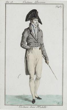 c.1804 costume parisien. 648