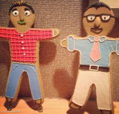 Tis the season!!! Gingerbread Man, Gingerbread Cookies, Scott Brothers, Jonathan Scott, Property Brothers, When I Grow Up, Tis The Season, Seasons, Sailing