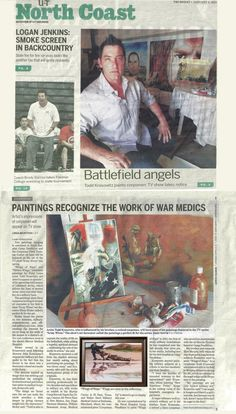 """""""Hello all!I have been working with military artist Todd Krasovetz for many years and it goes without saying that he is one of the most professional and talented artist we had the pleasure of working with.I have used Todd's pieces on camera as Set Decoration for Film and Television, on shows such as 'Army Wives', Lifetime's #1 Hit Series! I strongly recommend him for any art or  design project! Thanks Todd for everything! -Missy Ricker - Set Decorator - ABC Studios, Hollywood, CA"""""""