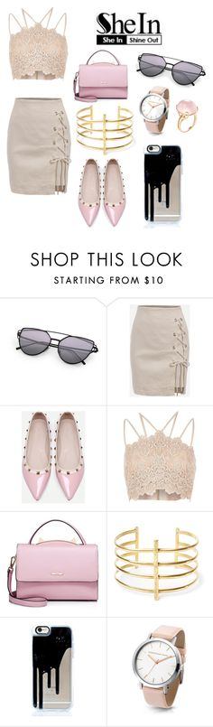 """Untitled #122"" by gurveenpanesar ❤ liked on Polyvore featuring WithChic, River Island, BauXo and Goshwara"