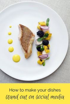 Master the art of plating and make sure YOUR dishes stand out from the crowd. Learn the experts' techniques, tips and tricks for a fancy and modern decoration and presentation of your dishes.
